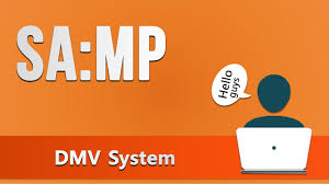 sa mp dmv system youtube