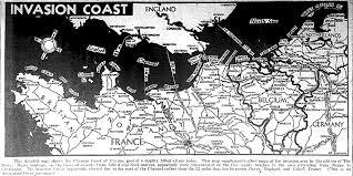 Normandy Map Map Europe 6 6 44exb E Jpg