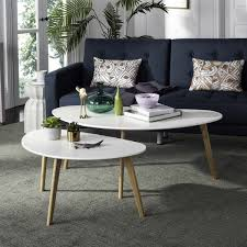 Livingroom Tables Fox8208a Coffee Tables Furniture By Safavieh
