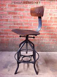 drafting bar stool toledo reproduction drafting stool uhl chair vintage industrial