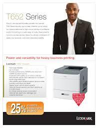 download free pdf for lexmark t652n printer manual