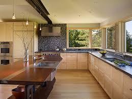 tiles backsplash modern stainless kitchen range hood on artistic