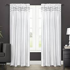 Winter Window Curtains Exclusive Home Curtains Bling Rod Pocket Window