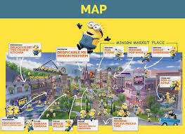 map usj 23 ultimate guide to minions harry potter and at universal