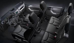 4 Door Jeep Interior 2016 Jeep Wrangler A Versatile And Comfortable Interior