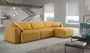 canapé d angle en velours canapé d angle en tissu haut de gamme bi matière velours et texturé