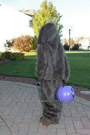 Bigfoot Halloween Costume Kids Easy Kids Bigfoot Costume