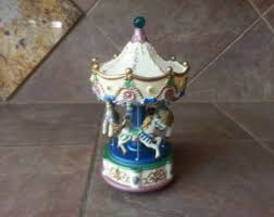 Unique Music Boxes Carousel Music Box Etsy