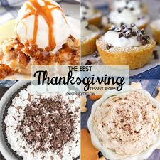 best thanksgiving dessert recipes kleinworth co