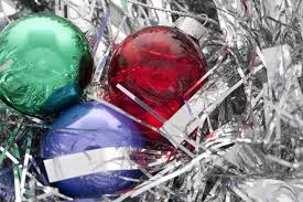 photo of glass baubles free christmas images