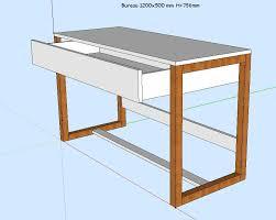 fabriquer un bureau enfant fabriquer bureau pieds de bureau et stabilité