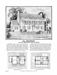 Colonial House Floor Plans by Colonial Revival House Plans 1920 House Plans