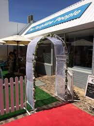 wedding arches perth wedding arch wrought iron dressed perth party hire