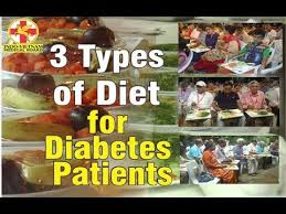 3 types of diet for diabetes patients youtube