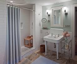 shower stall curtains bathroom traditional with cubby contemporary