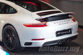 porsche 911 launch all turbo porsche 911 launched in malaysia priced from
