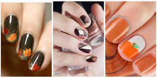 How To Decorate Nails At Home Fall Nails Nail Art For Autumn