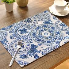table mats and coasters table mats tableware mats pads double thick table mat cotton orchid
