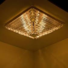 large flush mount ceiling light large italian gold plated pyramid flush mount ceiling light from