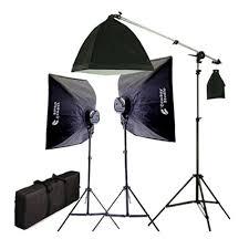 cheap studio lights for video watt photo studio lighting softbox video light kit boom set carry