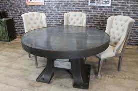 zinc top round dining table antiques atlas zinc top round dining table vintage