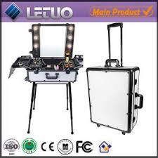 Rolling Makeup Case With Lights Lt Mcl0027 Rolling Makeup Case With Lights Professional Makeup