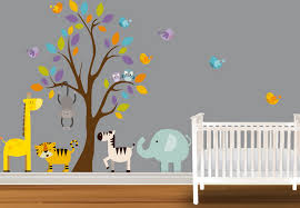 chambre bebe deco decoration chambre bebe theme jungle deco maison moderne