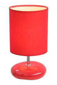 Small Lamp Table Simple Designs Lt2005 Wht Stonies Small Stone Look Table Lamp