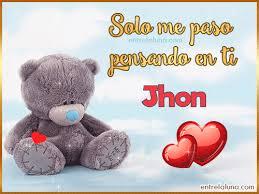 imagenes que digan te amo jhon imágenes tarjetas gifs con nombre para jhon