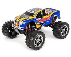 blue thunder monster truck videos t maxx classic rtr monster truck blue by traxxas tra49104 1
