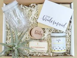 bridesmaid favors bridesmaid gift box of honor gift box personalized wine