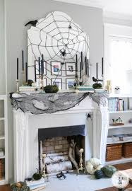 stylish halloween mantel inspired by charm