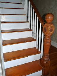 hazardous design refinishing the stairs part 1 sanding up a storm