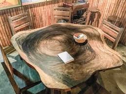 tree cross section table amazing table made of cross section of a huge tree picture of