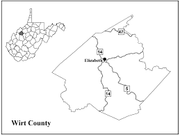County Map West Virginia by Wirt County Center For Excellence In Disabilities