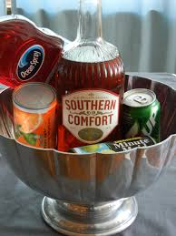 Crystal Comfort Liqueur Southern Comfort Punch Frozen Orange Juice And Limeade Cranberry