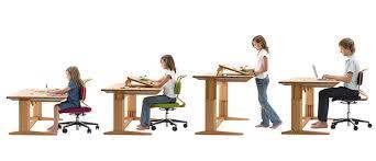 adjustable height kids table desks adjustable height desks