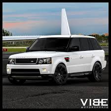 land rover lr4 white black rims 22