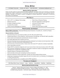 billing resume sample medical billing resume best resume sample