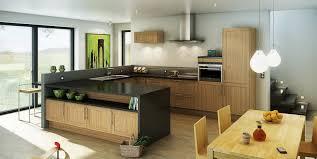 modele de cuisine hygena cuisine moderne grise hygena interieur cuisine