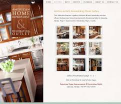 elegant home decorating web design