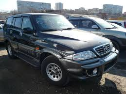 ssangyong korando 1999 2002 ssang yong musso pictures
