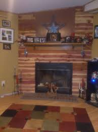Fireplace Wall Tile by 17 Best Slate Tile Fireplace And Cedar Walls Images On Pinterest