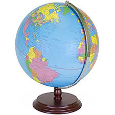 earth globe map world globe 12 inch desktop atlas with antique stand