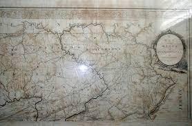 University Of Pennsylvania Map by 1790 To 94 Pennsylvania Maps