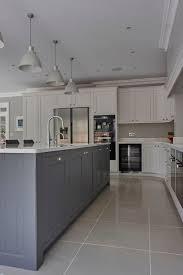 gray tile kitchen floor kitchen design ideas