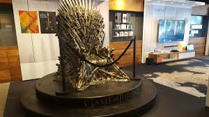 iron throne replica is now open on boylston street at the at u0026t store