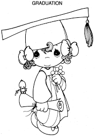 8 images of disney graduation coloring pages precious moments
