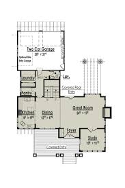 Two Story Craftsman Style House Plans by 145 Best Floor Plans Images On Pinterest Small House Plans