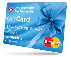 bank gift cards central bank of india debuts gift and cards to ease